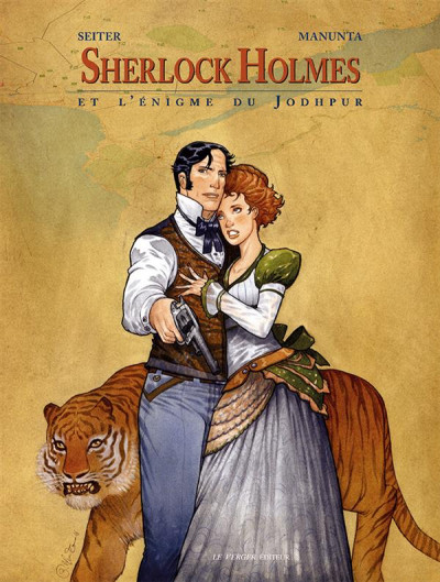 Couverture Sherlock Holmes et l'énigme du Jodhpur