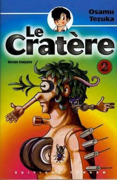 Couverture Le cratère tome 2