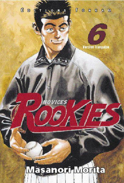 Couverture rookies tome 6
