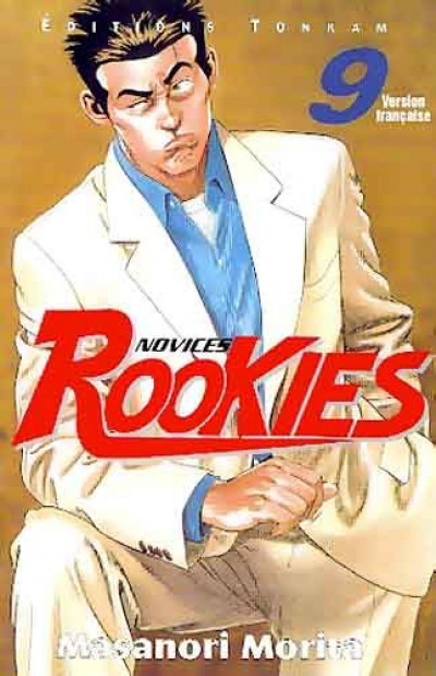 Couverture rookies tome 9
