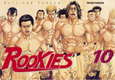 Couverture rookies tome 10
