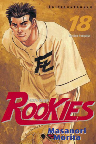 Couverture rookies tome 18