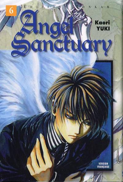 Couverture angel sanctuary tome 6