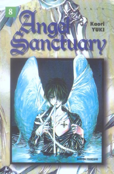 image de angel sanctuary tome 8