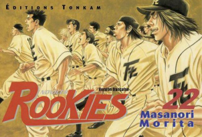 Couverture rookies tome 22