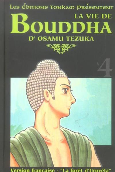 Couverture la vie de bouddha tome 4