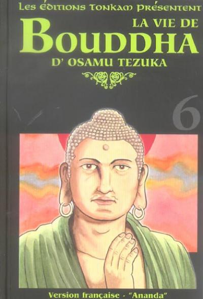 Couverture la vie de bouddha tome 6