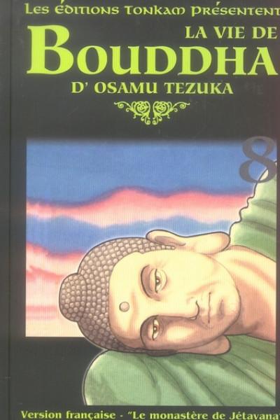 Couverture la vie de bouddha tome 8