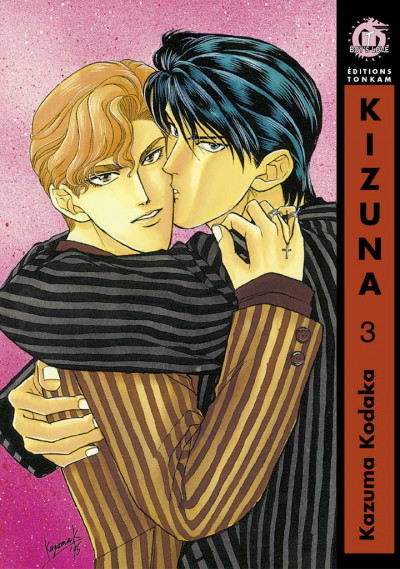 Couverture kizuna tome 3