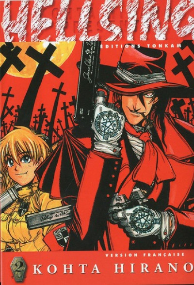 Couverture hellsing tome 2
