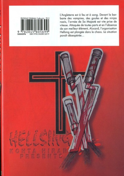 Dos hellsing tome 6