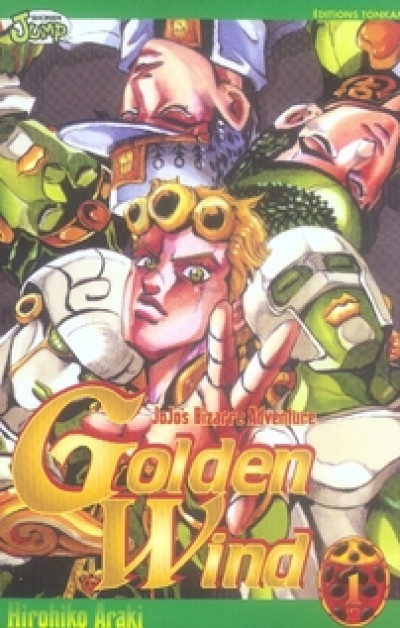 Couverture Jojo's bizarre adventure - golden wind tome 1