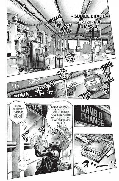 Page 5 Jojo's bizarre adventure - golden wind tome 1