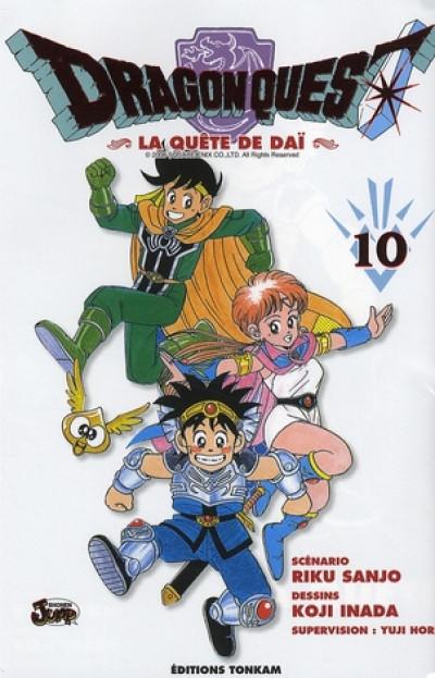 Couverture dragon quest tome 10