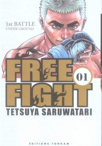 Couverture free fight tome 1