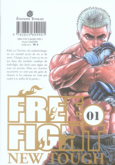 Dos free fight tome 1