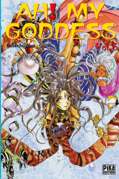 Couverture ah! my goddess tome 5
