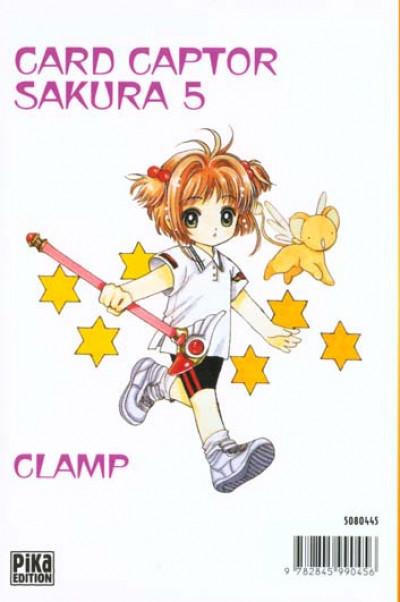 Dos card captor sakura tome 5