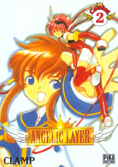 Couverture angelic layer tome 2