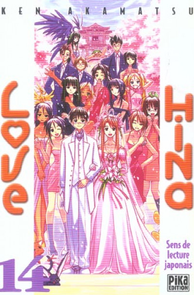 Couverture Love hina tome 14