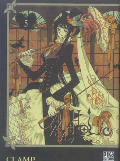 Couverture xxx holic tome 5