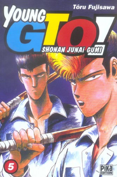 Couverture young gto tome 5