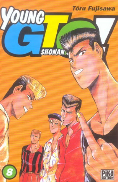 Couverture young gto tome 8