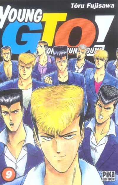 Couverture young gto tome 9