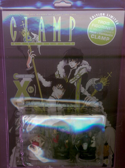 Couverture clamp anthology tome 8