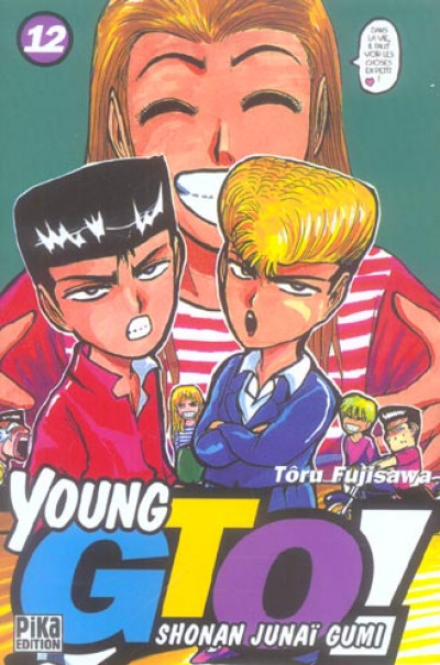 Couverture young gto tome 12