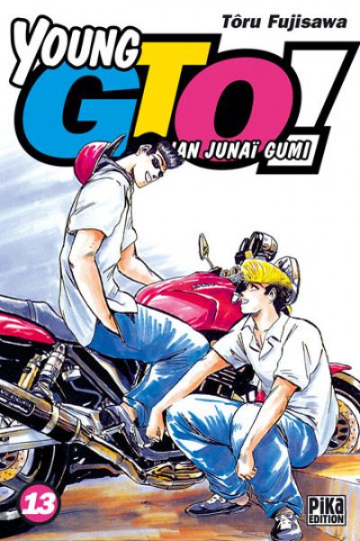 Couverture young gto tome 13