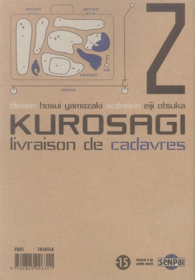Dos kurosagi, livraison de cadavres tome 2