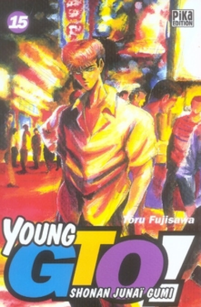 Couverture young gto tome 15