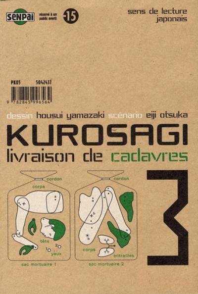 Couverture kurosagi, livraison de cadavres tome 3