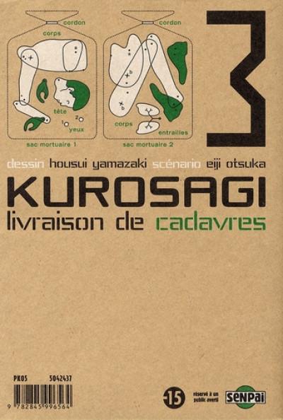 Dos kurosagi, livraison de cadavres tome 3