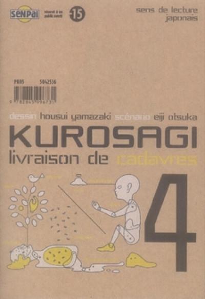 Couverture kurosagi, livraison de cadavres tome 4