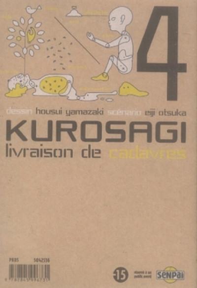 Dos kurosagi, livraison de cadavres tome 4