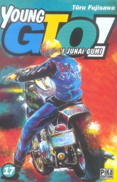 Couverture young gto tome 17
