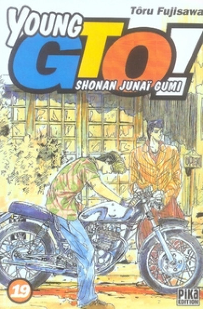 Couverture young gto tome 19
