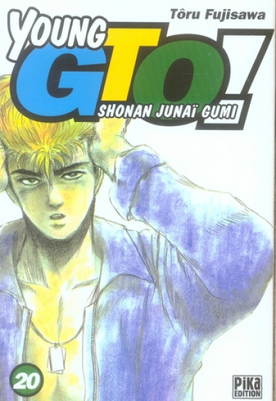 Couverture young gto tome 20