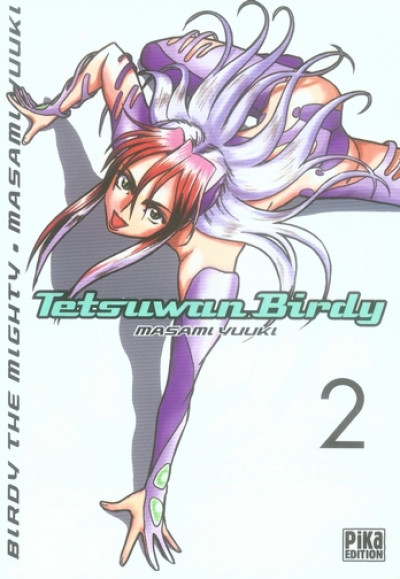 Couverture tetsuwan birdy tome 2