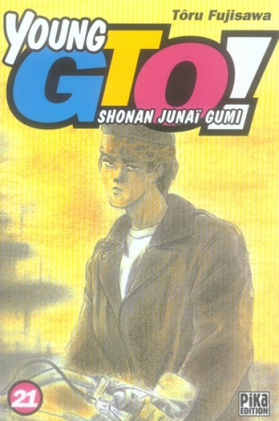 Couverture young gto tome 21