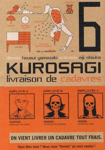Couverture kurosagi, livraison de cadavres tome 6