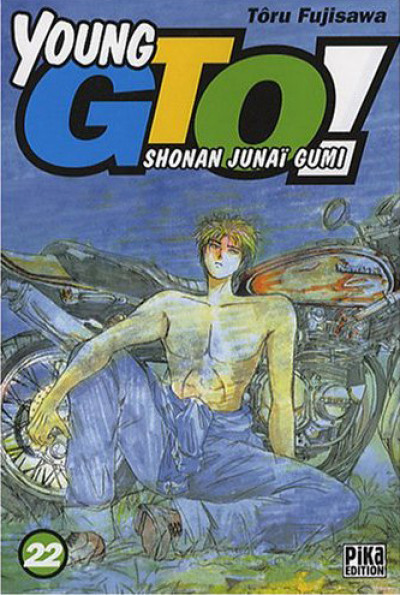 Couverture young gto tome 22