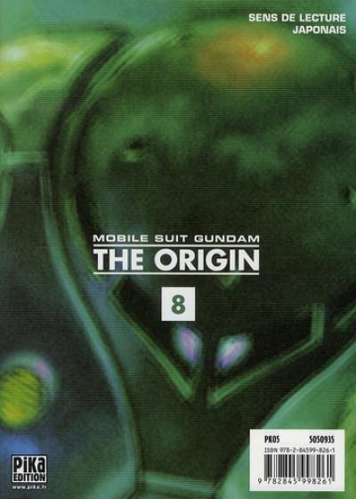 Dos Mobile suit gundam - the origin tome 8 - jaburo 2e partie