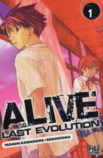 Couverture alive last evolution tome 1