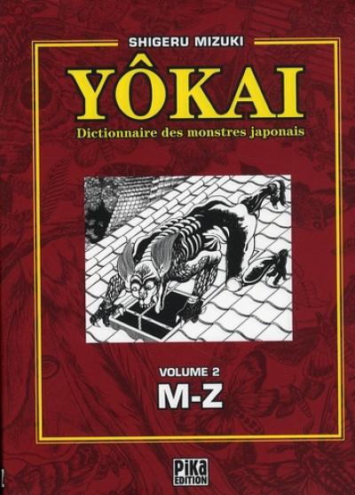 Couverture yôkai, dictionnaire des monstres japonais tome 2 - l-z