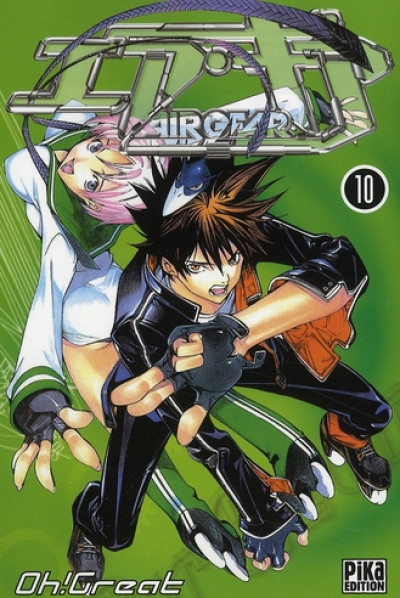 Couverture air gear tome 10