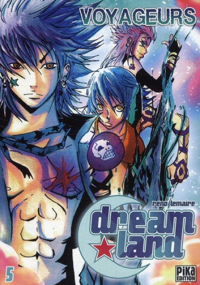 Couverture dreamland tome 5 - voyageurs