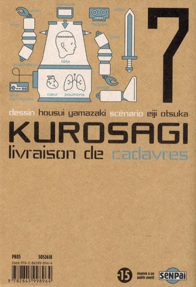 Couverture kurosagi, livraison de cadavres tome 7